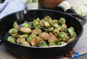 Siracha Brussel Sprouts