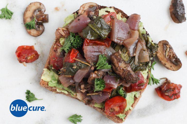 mushroom-toast