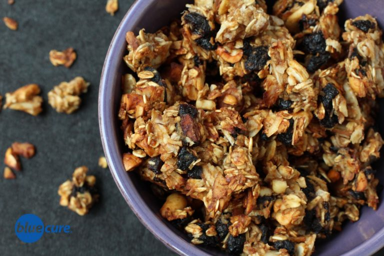 Lemon cherry oat clusters