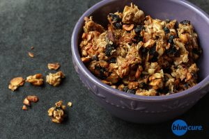 Lemon cherry granola