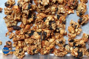 Healthy Lemon cherry granola