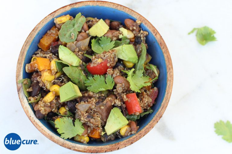 Mexican Black Bean Quinoa Salad