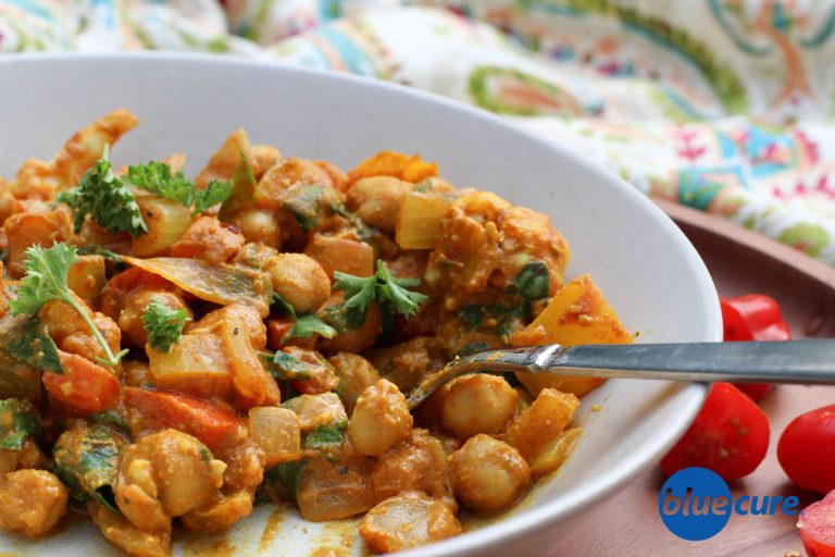 Vegan Chickpea Red Curry