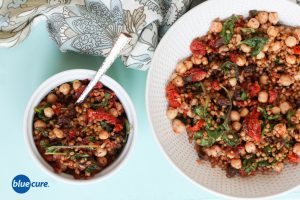 Vegan Wheat Berry Salad